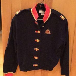 St. John Sport Jacket Navy Blue